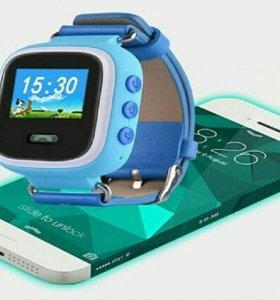 Детские часы с GPS функцией гарантия оригинал