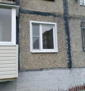 Устранение продуваний с пластиковых окон.