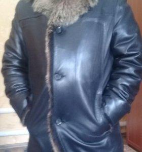 Зимняя Кожаная Куртка.