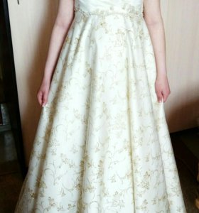 Свадебное платье подойдет для беременной