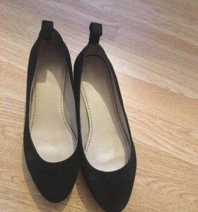 Туфли женские (натуральный замш)