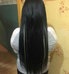 Итальянское капсульное Наращивание волос.