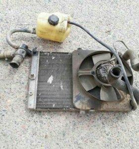 Радиатор охлаждения ваз 09