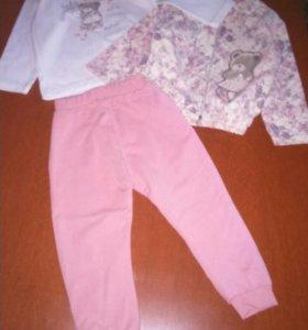 Детский костюм тройка baby rose