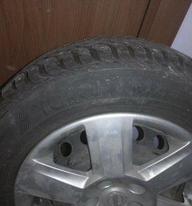 Зимние колёса с дисками