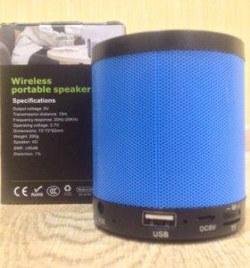 Беспроводная Bluetooth-аудиоколонка