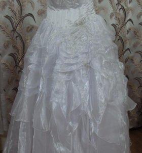 Свадебное платье верх корсет