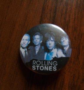 Значок Rolling Stones. Идеальное Состояние