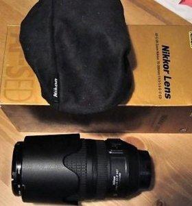 Обьектив Nikon 70-300mm f/4.5-5.6G ED-IF AF-S VR