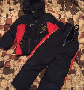 Зимний костюм тройка  5 лет