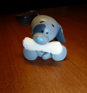 Собачка - друг мишки тедди