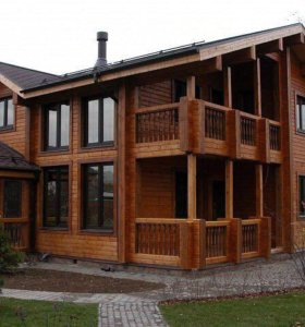 Строительство домов по технологии двойного бруса!