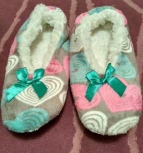 Новые тапочки - носочки