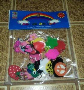 Набор подвесок-шармиков на браслеты детские