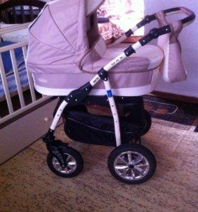 Детская коляска 3в1 производство Польша
