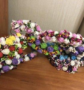 Ободки цветочные