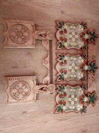 деревянные доски ручной работы