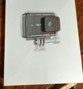 Xiaomi Yi 4k+ новая запечатона с аквабоксом