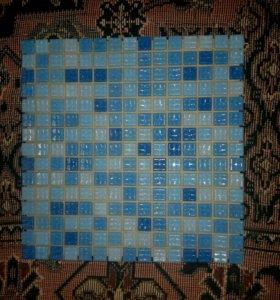 Мозаика Colours голубой Микс