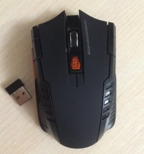 Новая мышь, беспроводная