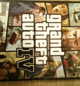 Диск от игры GTA4