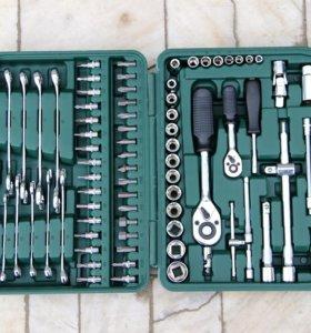 Набор инструментов 121 + чемодан в подарок