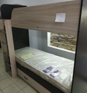 Двухъярусная кровать в рассрочку