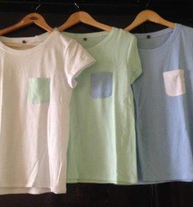 Стильные минималистичные футболки