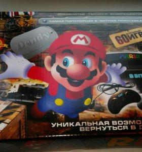 Игровые приставки Dendy 60 игр и сеги разных мод.