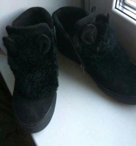 Ботинки зима 37 р