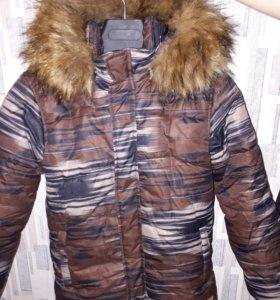 Куртка LUHTA на мальчика зимняя, 36-38р.