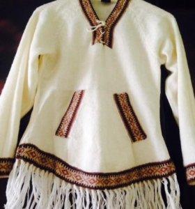 Женский свитер из альпака