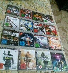 Диски на PS3