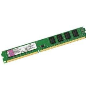 DDR3 4GB 1066МГц, 1333МГц. Новая с гарантией.