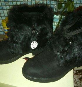 Зим.ботинки,новые.
