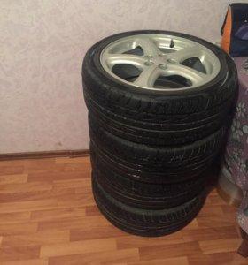 Продам колеса в сборе)