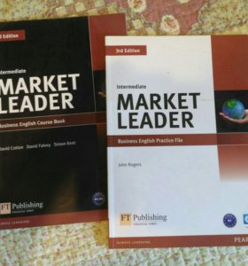 Market Leader Intermediate учебник по английскому
