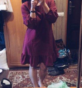 Новое платье Цвета Марсала
