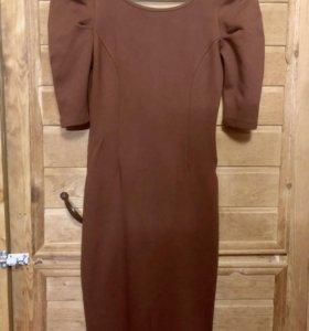Платье трикотажное по фигуре adl