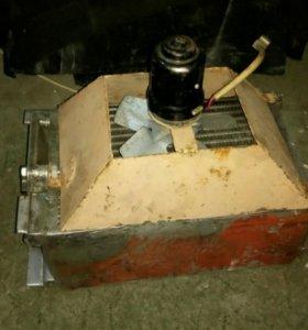 Масляная печка на грузовики и спецтехнику