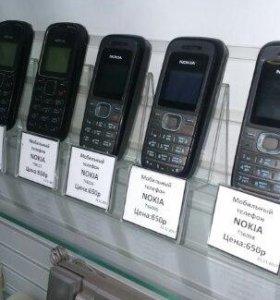 мобильные телефоны NOKIA в ассортименте