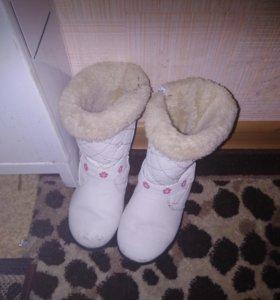 Зимние сапожки