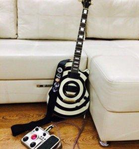 Электрогитара Gibson (реплика)