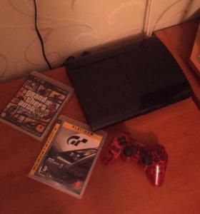 PlayStation 3 500gb+GTA5