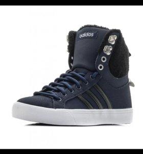 Кеды зимние adidas оригинал 39-40 р новые