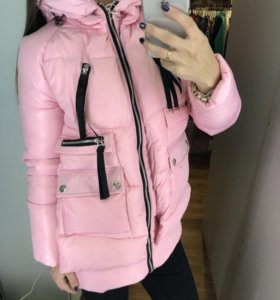 Куртка трансформер Розовая