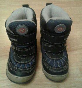 Ботинки мембрана зима