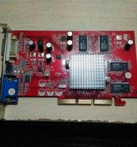 Видеокарта Radeon 9550 128mb