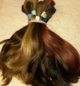 Волосы для наращивания и постижерных изделий