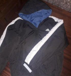 Куртка двухсторонняя Adidas